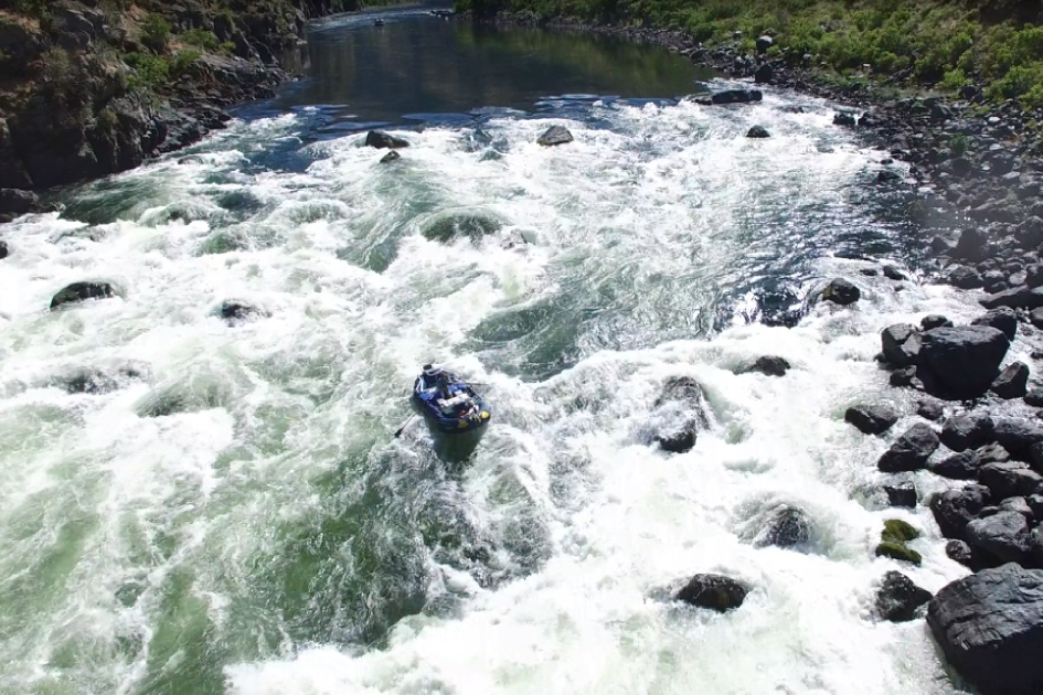 Wild Sheep Rapid hells canyon guides