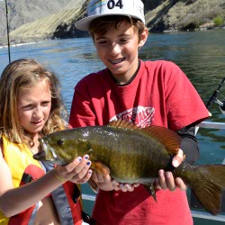 idaho bass fishing