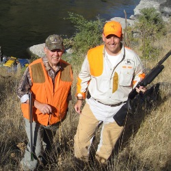 Chukar Hunting Idaho upland game guides cast and blast