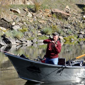 Drift Boat Fishing on the Salmon River