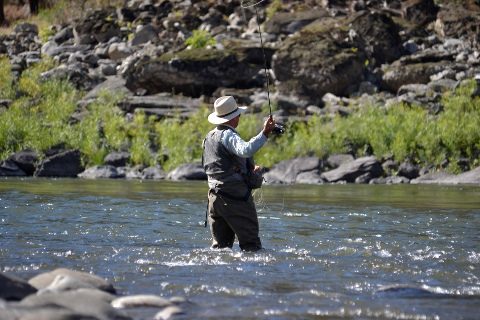 Fly Fishing for Salmon River Steelhead